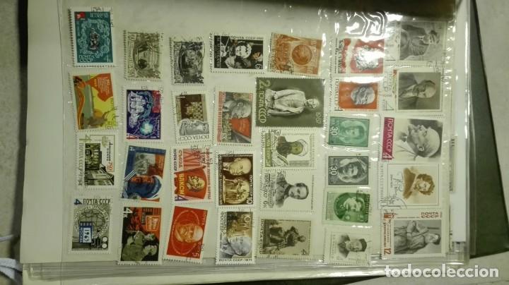 Sellos: Coleccion de miles de sellos del abuelo y mas - Foto 40 - 200878297