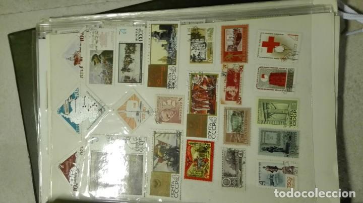Sellos: Coleccion de miles de sellos del abuelo y mas - Foto 41 - 200878297