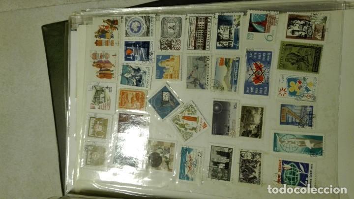 Sellos: Coleccion de miles de sellos del abuelo y mas - Foto 42 - 200878297
