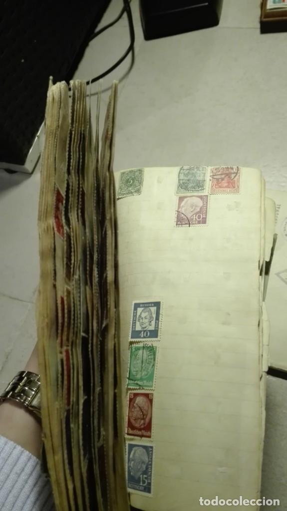 Sellos: Coleccion de miles de sellos del abuelo y mas - Foto 52 - 200878297