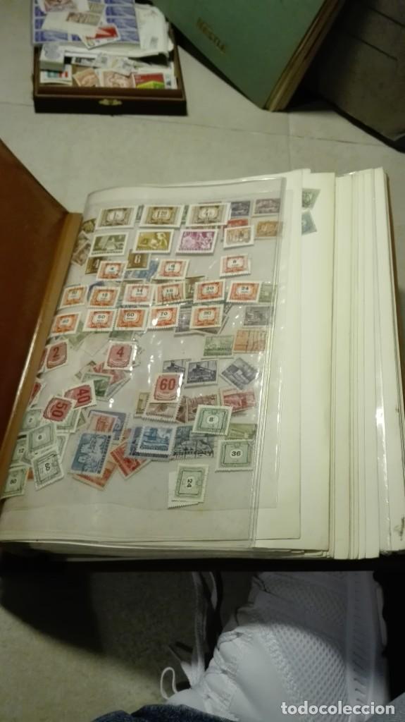 Sellos: Coleccion de miles de sellos del abuelo y mas - Foto 59 - 200878297