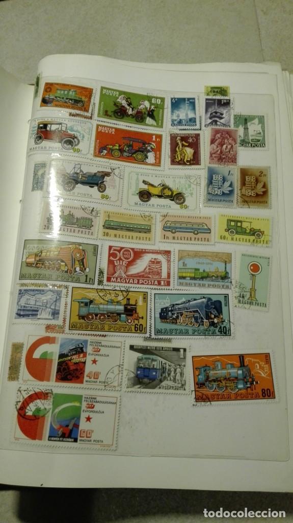 Sellos: Coleccion de miles de sellos del abuelo y mas - Foto 61 - 200878297