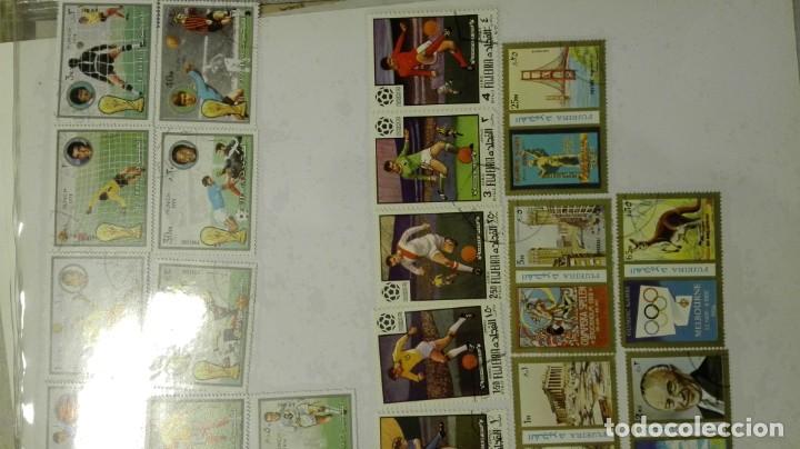 Sellos: Coleccion de miles de sellos del abuelo y mas - Foto 80 - 200878297