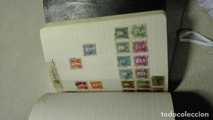 Sellos: Coleccion de miles de sellos del abuelo y mas - Foto 94 - 200878297