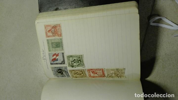 Sellos: Coleccion de miles de sellos del abuelo y mas - Foto 98 - 200878297