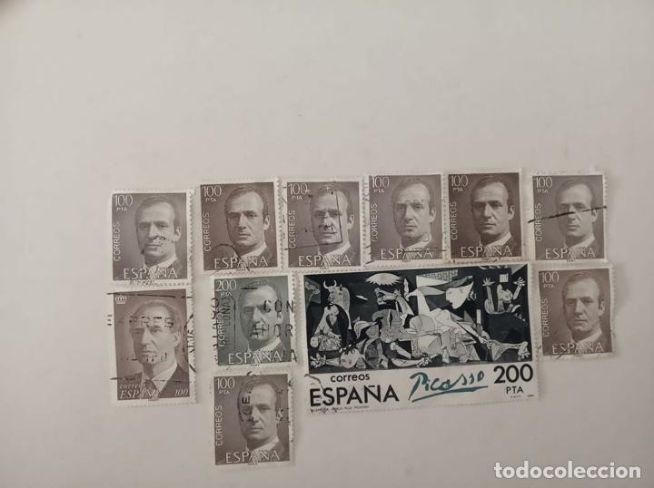 SELLOS 100 Y 200 PESETAS , (Sellos - Colecciones y Lotes de Conjunto)