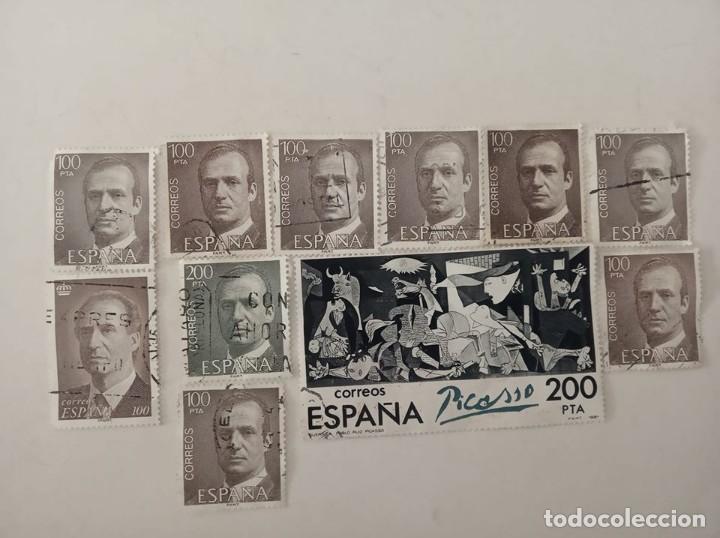 Sellos: Sellos 100 y 200 pesetas , - Foto 2 - 201117991