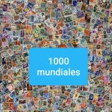 Sellos: LOTE 1000 SELLOS MUNDIALES VARIADOS (IMAGEN GENERICA) VER DESCRIPCION. Lote 202035351