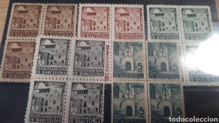SELLOS DEL AYUNTAMIENTO DE BARCELONA Y16 (Sellos - Colecciones y Lotes de Conjunto)