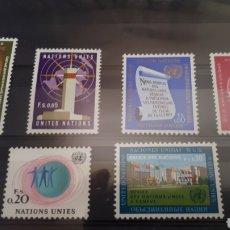 Sellos: SELLOS DE LAS NACIONES UNIDAS EN FRANCOS SUIZOS 1969 2 DE ELLOS USADOS Y94. Lote 202973083