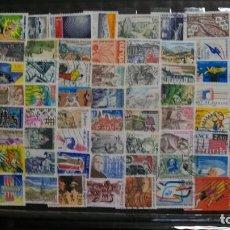 Selos: /23.05/(6)-FRANCIA-LOTE DE SELLOS DIFERENTES EN USADO/º/. Lote 205341810