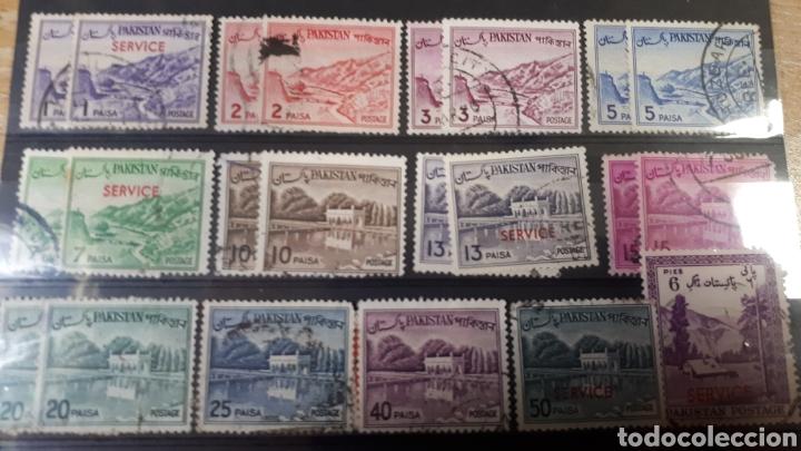 SELLOS USADOS DE PAKISTAN Y236 (Sellos - Colecciones y Lotes de Conjunto)