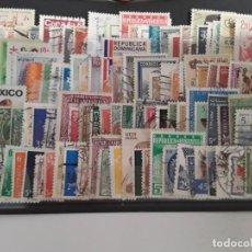 Sellos: 100 SELLOS DIFERENTES FORMATO P MUNDIALES. Lote 205566987