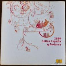Sellos: LIBRO ALBUM DE SELLOS ESPAÑA Y ANDORRA 2009 - COMPLETO NUEVO. Lote 205569492