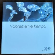 Sellos: LIBRO ALBUM DE SELLOS ESPAÑA Y ANDORRA 2013 - COMPLETO NUEVO - SIN PRUEBAS. Lote 205576270