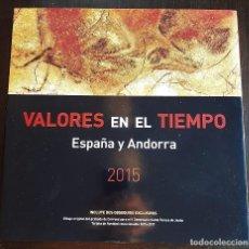 Sellos: LIBRO ALBUM DE SELLOS ESPAÑA Y ANDORRA 2015 - COMPLETO NUEVO - SIN PRUEBAS. Lote 205577990
