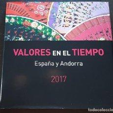 Sellos: LIBRO ALBUM DE SELLOS ESPAÑA Y ANDORRA 2017 - COMPLETO NUEVO - SIN PRUEBAS. Lote 205581038