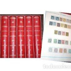 Sellos: GRAN COLECCIÓN DE FRANCIA 1849-1990. 6 ÁLBUMES. SE PUEDEN VER TODOS LOS SELLOS EN LAS FOTOGRAFÍAS. Lote 205643418