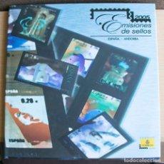 Sellos: LIBRO EMISIONES SELLOS OFICIAL DE CORREOS ESPAÑA ANDORRA 2005. Lote 206293291