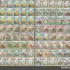 Francobolli: ITALIA CONJUNTO DE SELLOS USADOS CASTILLOS. Lote 206473168