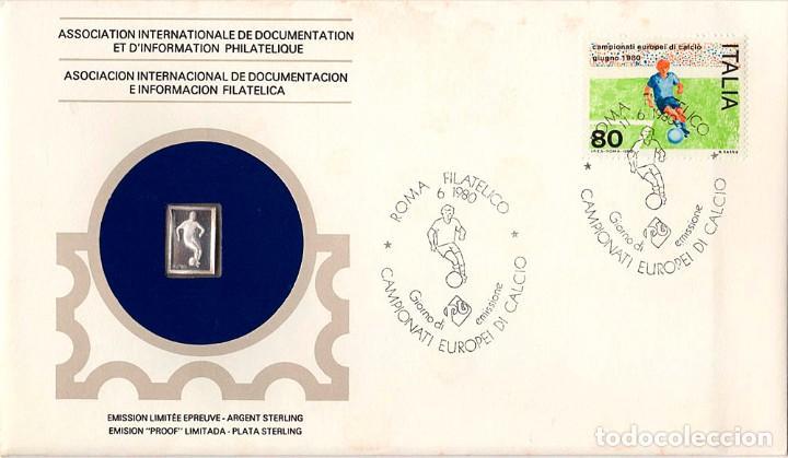 47 SOBRES PRIMER DÍA CON 47 MINILINGOTES DE PLATA (Sellos - Colecciones y Lotes de Conjunto)