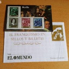 Sellos: SELLOS EL FRANQUISMO EN MONEDAS Y SELLOS (MURILLO). Lote 210422580
