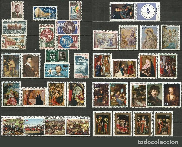 DAHOMEY EXCOLONIA FRANCESA 16 SERIES COMPLETAS ** NUEVAS VALOR CAT. 107,55 EUROS (Sellos - Colecciones y Lotes de Conjunto)