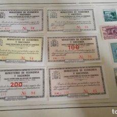 Sellos: LOTE 10 UNIDADES TEMAS TASAS, HUÉRFANOS, REPÚBLICA, VARIOS. Lote 213917592