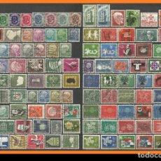 Sellos: ALEMANIA 1951-1961 CONJUNTO DE SELLOS USADOS DIFERENTES. Lote 218580556