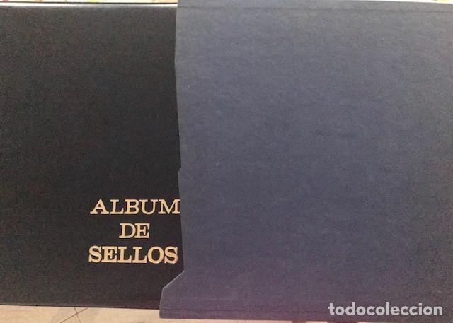 Sellos: Excepcional coleccion sellos España años 1960 a 1990 en Hojas Olegario y 4 Albums Philos - Foto 4 - 219321357