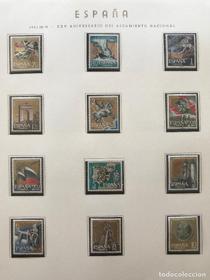 Sellos: Excepcional coleccion sellos España años 1960 a 1990 en Hojas Olegario y 4 Albums Philos - Foto 58 - 219321357