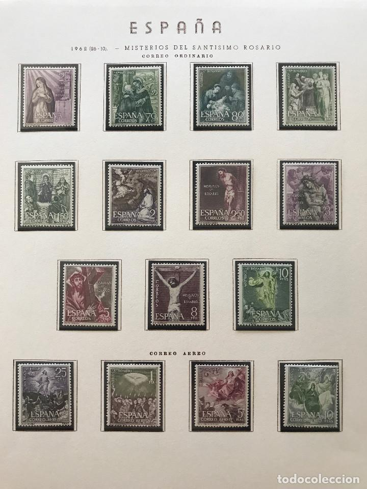 Sellos: Excepcional coleccion sellos España años 1960 a 1990 en Hojas Olegario y 4 Albums Philos - Foto 69 - 219321357