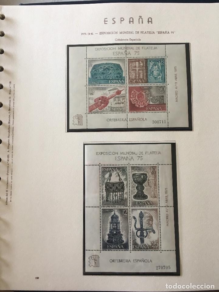 Sellos: Excepcional coleccion sellos España años 1960 a 1990 en Hojas Olegario y 4 Albums Philos - Foto 160 - 219321357