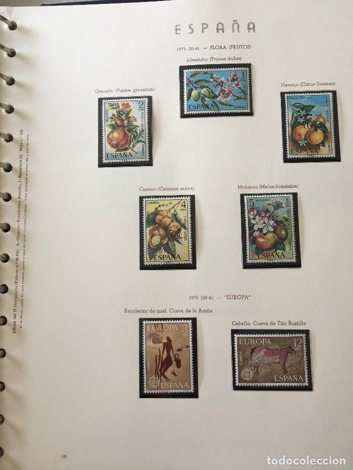 Sellos: Excepcional coleccion sellos España años 1960 a 1990 en Hojas Olegario y 4 Albums Philos - Foto 161 - 219321357