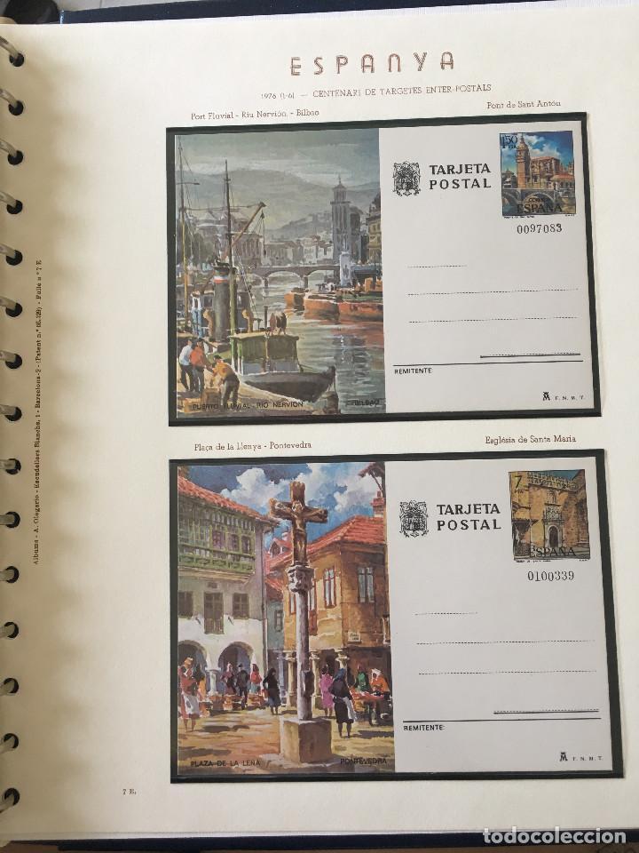 Sellos: Excepcional coleccion sellos España años 1960 a 1990 en Hojas Olegario y 4 Albums Philos - Foto 195 - 219321357