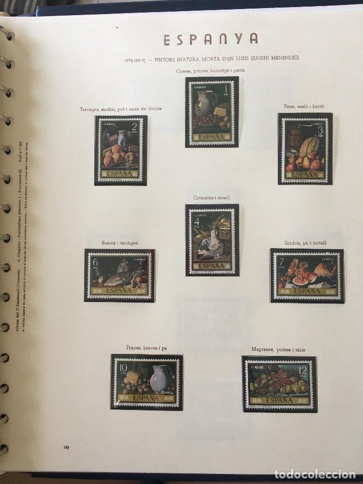 Sellos: Excepcional coleccion sellos España años 1960 a 1990 en Hojas Olegario y 4 Albums Philos - Foto 202 - 219321357