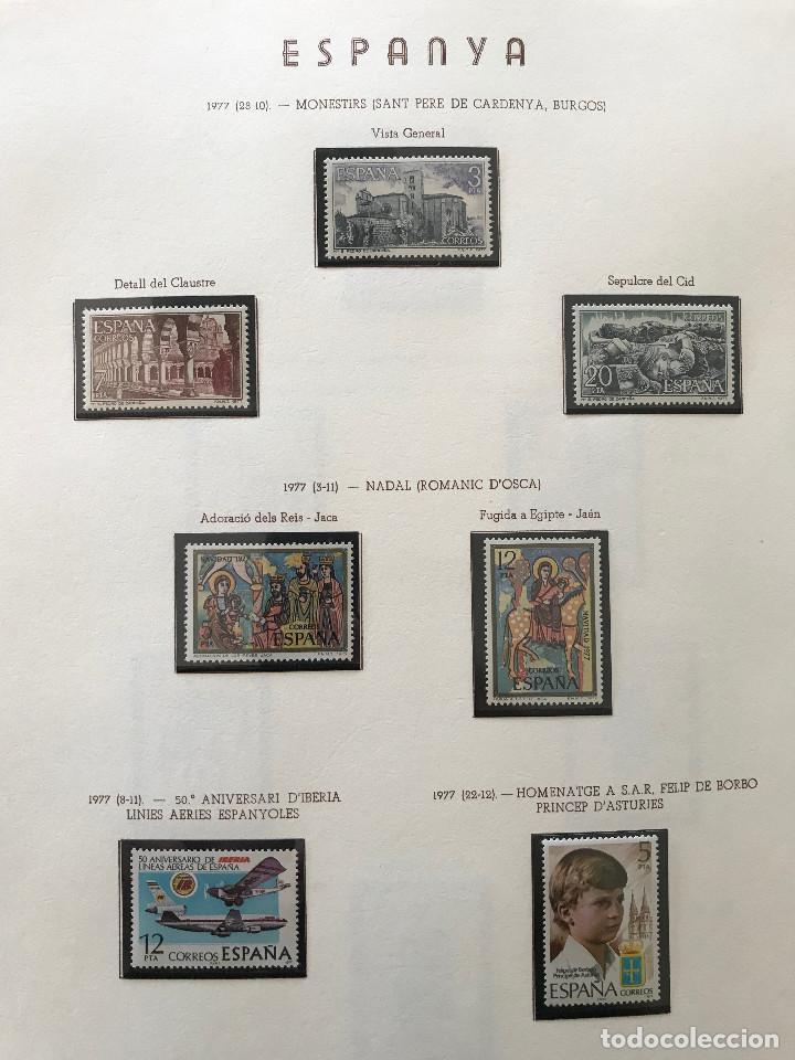 Sellos: Excepcional coleccion sellos España años 1960 a 1990 en Hojas Olegario y 4 Albums Philos - Foto 205 - 219321357
