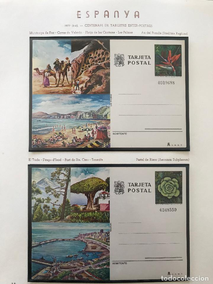 Sellos: Excepcional coleccion sellos España años 1960 a 1990 en Hojas Olegario y 4 Albums Philos - Foto 207 - 219321357