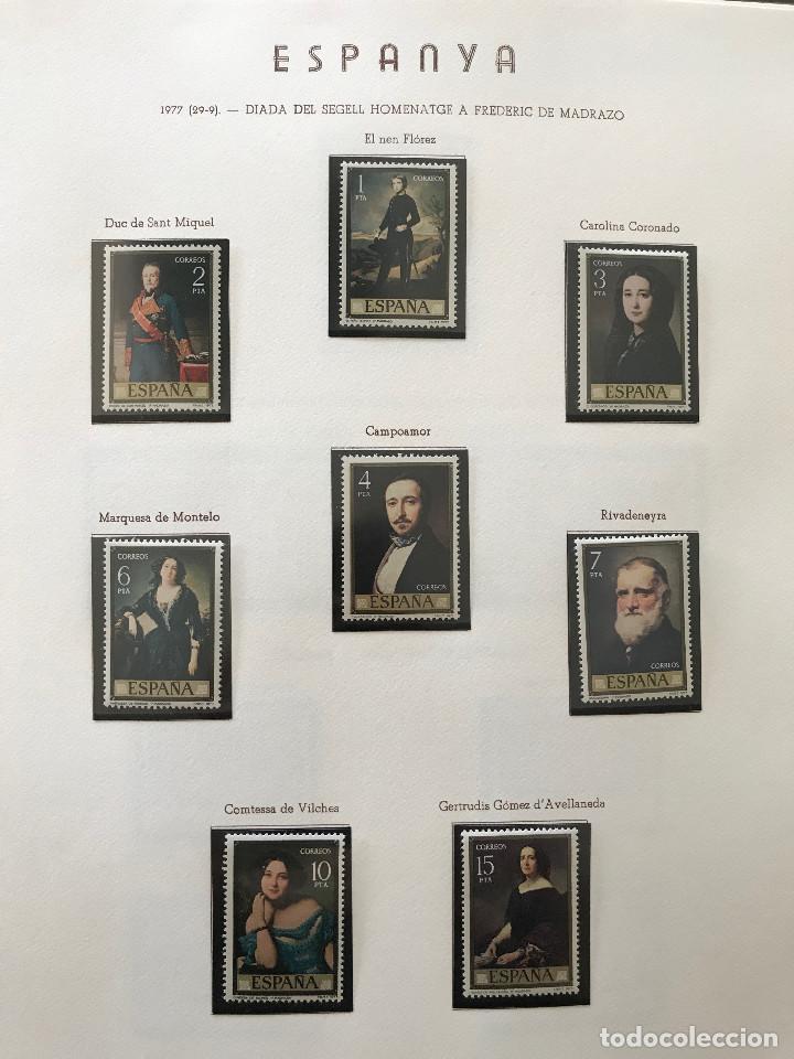Sellos: Excepcional coleccion sellos España años 1960 a 1990 en Hojas Olegario y 4 Albums Philos - Foto 213 - 219321357