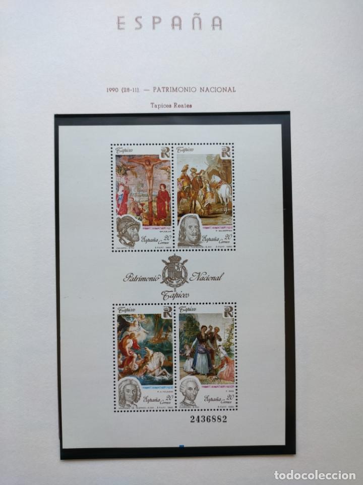 Sellos: Excepcional coleccion sellos España años 1960 a 1990 en Hojas Olegario y 4 Albums Philos - Foto 225 - 219321357