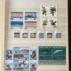 Sellos: PALAU, 1983 - 1998 COLECCIÓN COMPLETA DE SELLOS Y HOJAS BLOQUE, TEMÁTICO,(VALOR EN CATALOGO +2100€). Lote 220779943