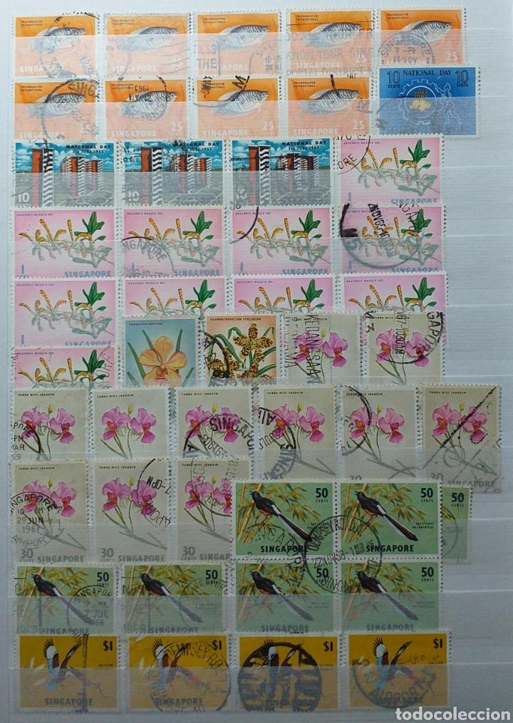 Sellos: Colección de sellos de Singapur - Foto 6 - 221519731