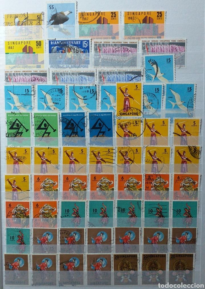 Sellos: Colección de sellos de Singapur - Foto 7 - 221519731