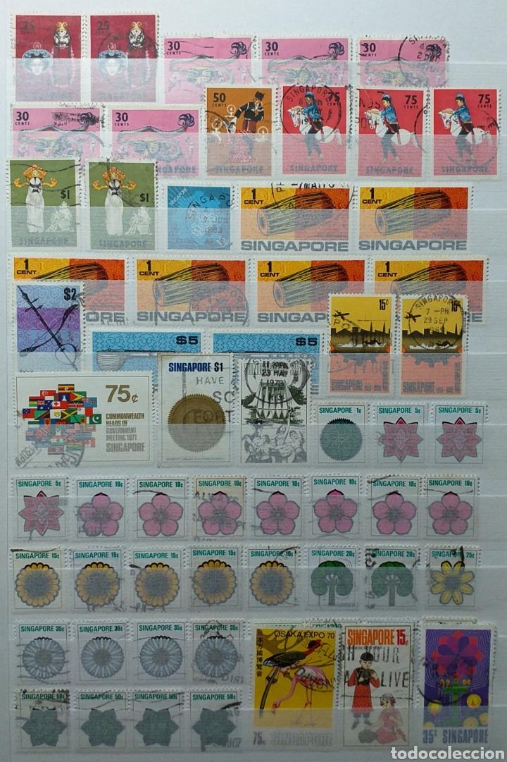 Sellos: Colección de sellos de Singapur - Foto 8 - 221519731