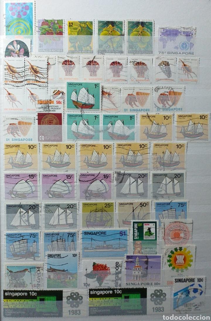 Sellos: Colección de sellos de Singapur - Foto 9 - 221519731