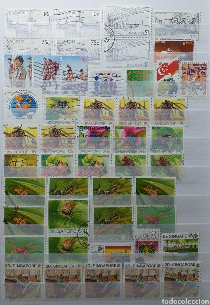 Sellos: Colección de sellos de Singapur - Foto 10 - 221519731
