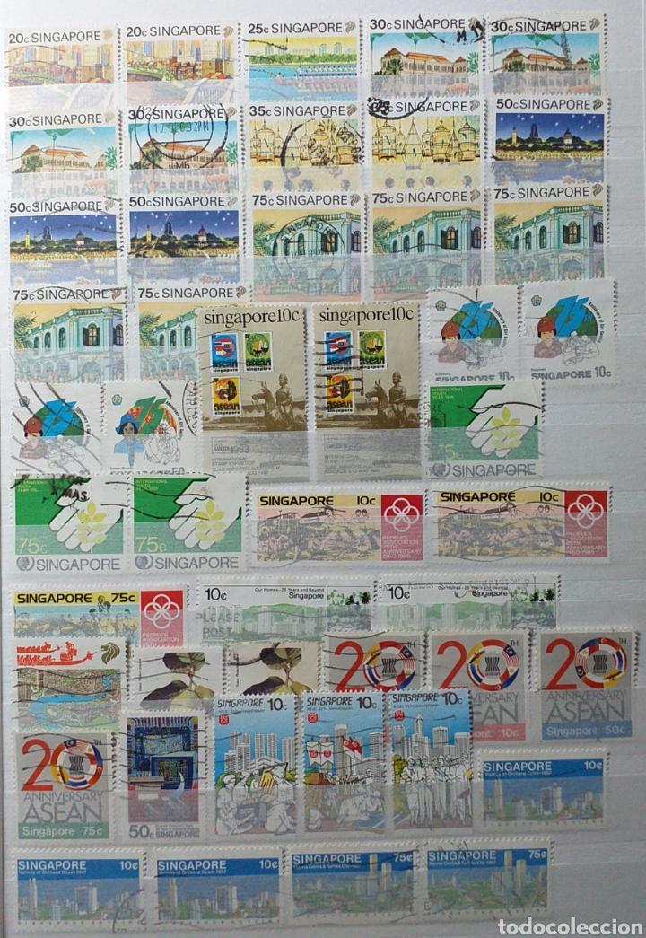 Sellos: Colección de sellos de Singapur - Foto 11 - 221519731