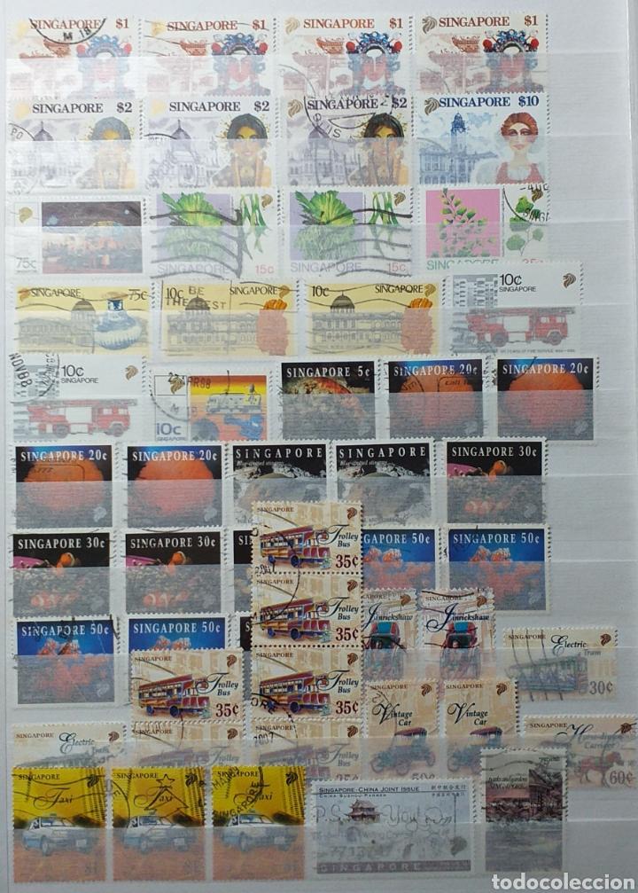 Sellos: Colección de sellos de Singapur - Foto 12 - 221519731