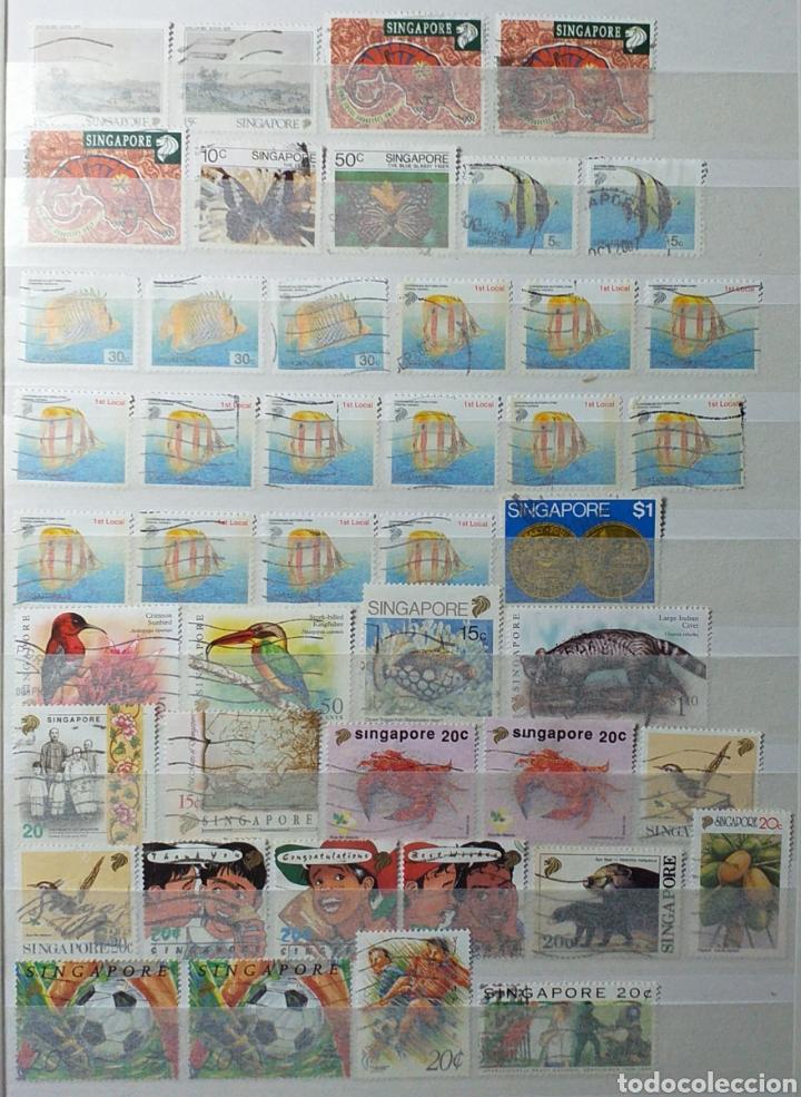Sellos: Colección de sellos de Singapur - Foto 13 - 221519731