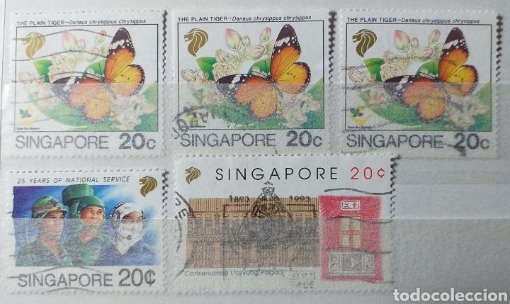 Sellos: Colección de sellos de Singapur - Foto 14 - 221519731